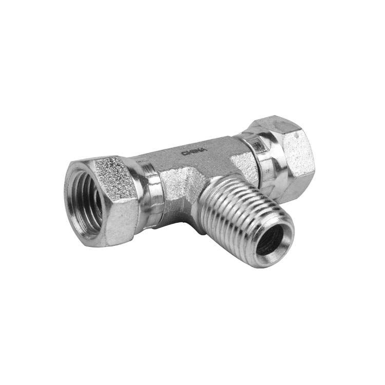 1601 - Pipe Male to Pipe Swivel Female Branch Tee