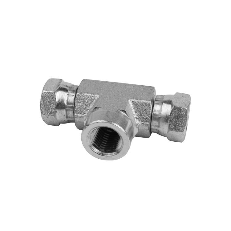1602 - Pipe Swivel to Pipe Female Branch Tee