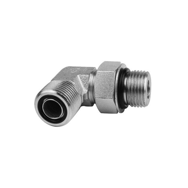 FS6801/FF6801 - ORFS to O-Ring Boss Male Elbow 90°