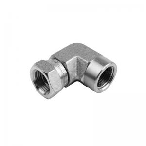 1502 - Pipe to pipe Swivel  Female Elbow 90°
